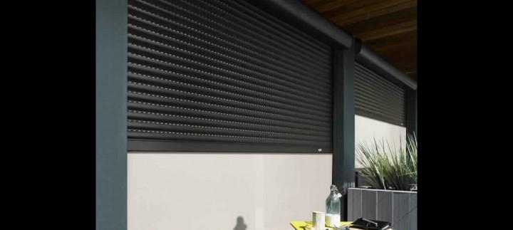 volet roulant r novation avec coffre store malin. Black Bedroom Furniture Sets. Home Design Ideas